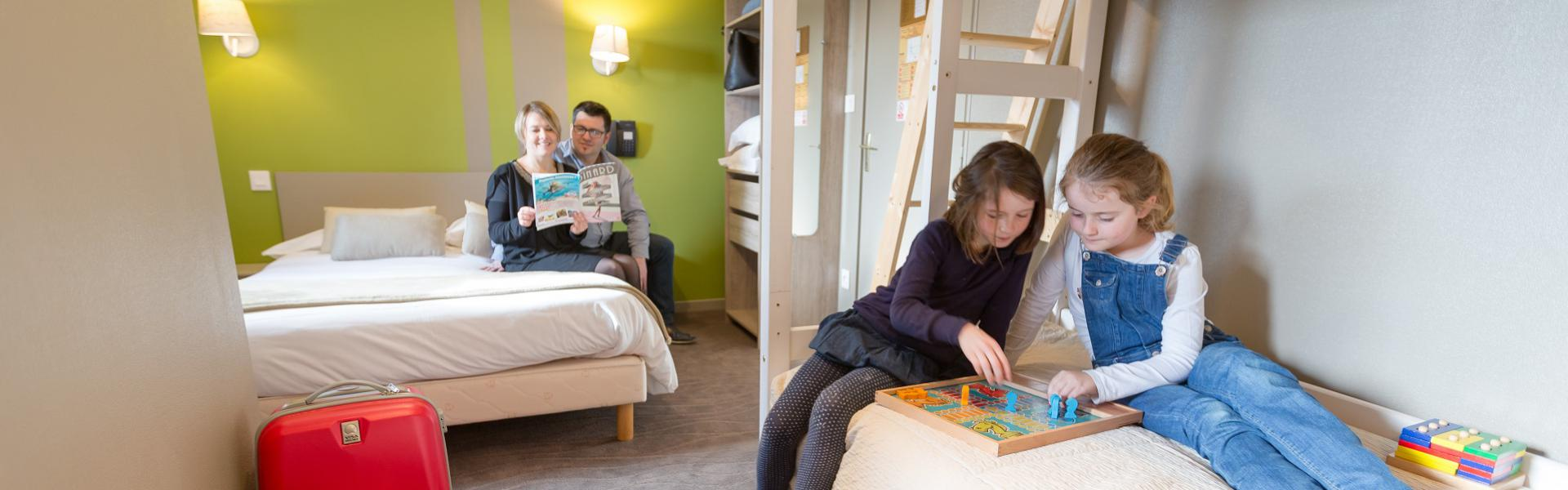 Family room hotel les alizes dinard brittany