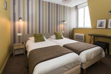 Chambre twin Hotel Les Alizes Dinard